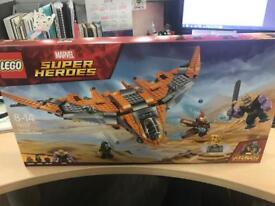Lego marvel super heroes- thanos ultimate battle game BRAND NEW UNOPENED