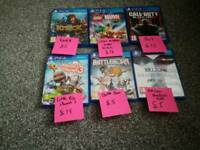 Open to offers on one or some together Very good condition PS4 games