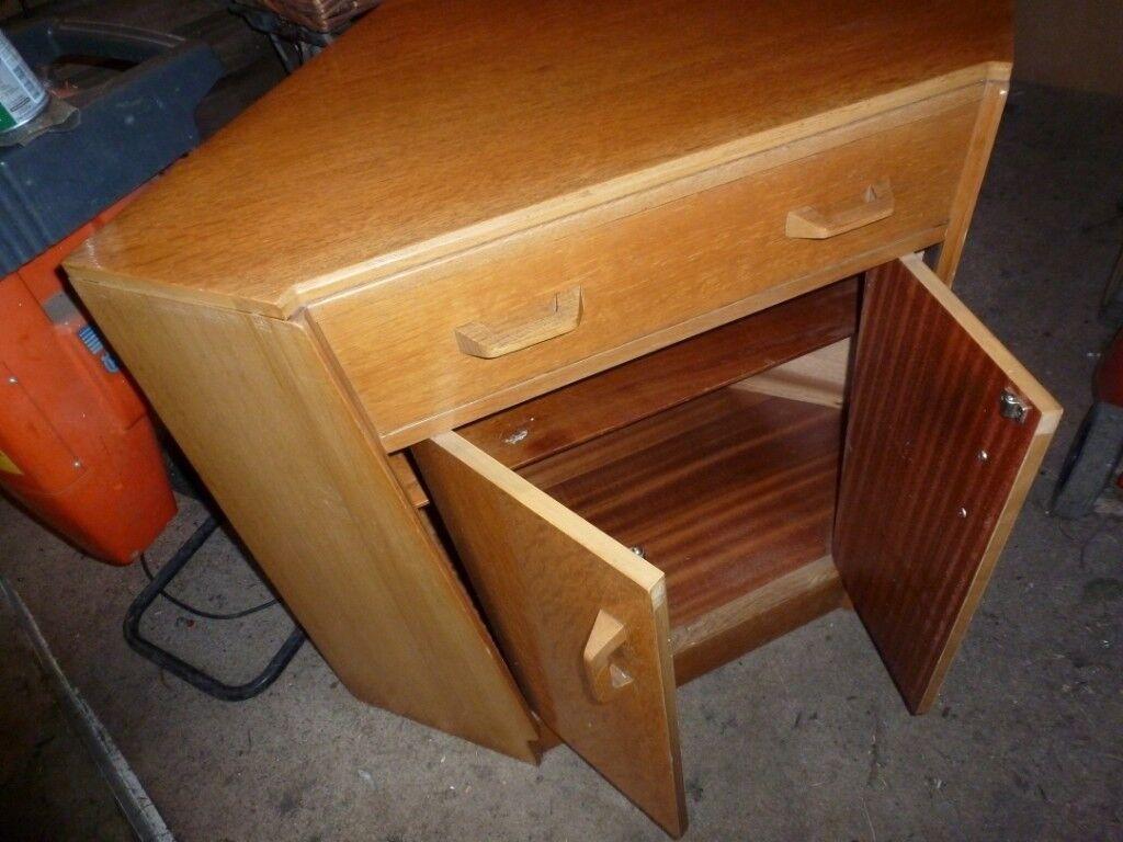 Vintage G Plan Corner Cabinet