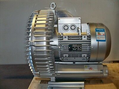 Regenerative Blower 11.5hp 364cfm 160h2o Press 480v3ph Goorui Ghbh 010 36 1r8