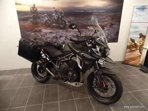 2017 Triumph Tiger 1200 Explorer. XCA - With Triumph Expedition