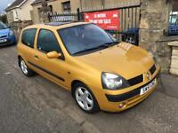 RENAULT CLIO 1.2 (51) FULL YEAR MOT , TRADE IN TO CLEAR £495