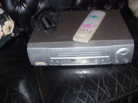 Sharp VC-MH704 6-head / Nicam VHS video recorder with remote