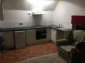 Studio Flat - Self Contained to Let in Castle Donington - 95pw