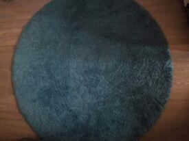 Round Blue Rug to sale