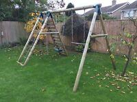 Childs multi-activity climbing frame