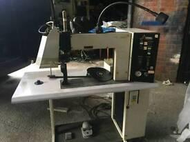 Armed seam sealing machine mark 1