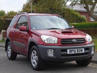 Toyota RAV4 2.0 D-4D NV Station Wagon 3dr£1,499 p/x welcome 2 OWNER,LONG MOT,EXCELLENT CON