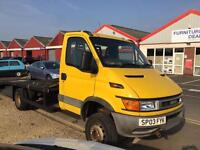2003 Iveco-Ford 2003 Flat Lorry Recover truck 6.5t 2.8Diesel