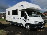 Lovely Fiat Carioca 656 Motorhome kept in dry storage.
