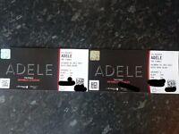 2 x Adele tickets block 103 row 10 wembley stadium 1st July