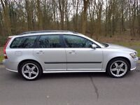 2006 VOLVO V50 1.8 SPORT PETROL MANUAL 130K WARRANTED MILES LONG MOT IN EXCELLENT CONDITION