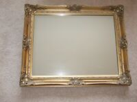 Antique-Gold Wall Mirror for sale