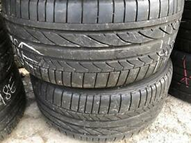 Bridgstone Bmw Runflat 255/35/18, Tread 7mm, Pairs Available.