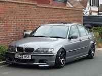 Bmw 330d M Sport Auto (2003/03) Saloon + 280 BHP + REMAPPED + SUNROOF + LOWERED + COILOVERS + XENONS