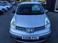 2008 58 Nissan Note Acenta 1.4 1 owner full history