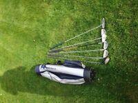 Junior Golf Club set with Case
