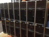 HP XW6200 Dual Xeon 6.4Ghz 2GB 250GB Desktop Tower PC Windows 7 Workstation