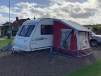 Elddis Avante 362 2007 2 berth touring caravan