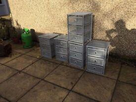 Metal Storage Drawers