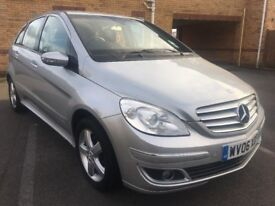 2006 MERCEDES BENZ B CLASS B200 SE, PETROL, MANUAL, MEDIUM MPV, FULL HISTORY, LONG MOT, P/X TO CLEAR