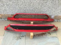 Honda type r front and rear splitters