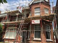R scaffolding services cheap reliable towers temporary roof safe access
