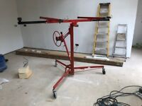 1 x 11 Foot 3.2 Meter Drywall/Plaster Board Hoist Tilt and Flat