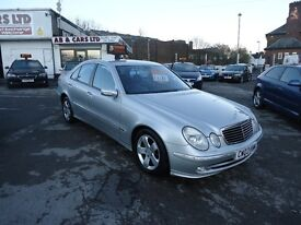 2003 MERCEDES E270 AUTOMATIC FULL SERVICE HISTORY TOP CONDITION PERFECT RUNNER MOT UNTIL 06 05 2017