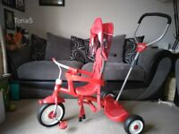 Radio Flyer Ride stand and stroll trike