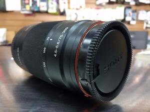Lentille téléobjectif SONY SLR 75-300mm   #F015558