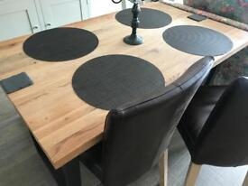 Table Chairs & bench from John Lewis