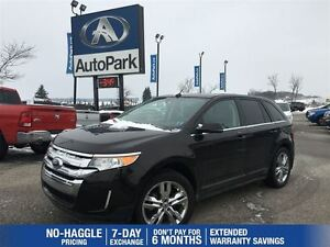 2013 Ford Edge Limited | Remote Start | Heated Leather | Panoram