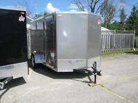 ENCLOSED UTILITY TRAILER 6 x 12 - RAMP - STK# 1499