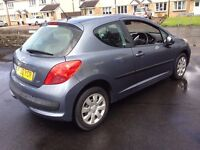 BARGAIN 2006 56 REG PEUGEOT 207 1.4 CHEAP TO RUN AND INSURE PX WELCOME £1095