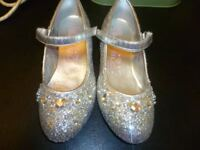 Girls sparkle shoes size 1