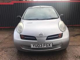 Nissan micra 1.2, immaculate inside out with low millage!!