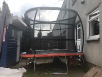10ft Trampoline and ladder for Sale