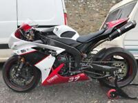 Yamaha Yzf R1 2008. 4c8. Race track bike