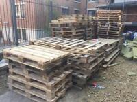 FREE Large & small timber pallets to give away