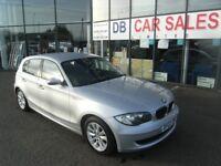 2007 07 BMW 1 SERIES 1.6 116I ES 5D 114 BHP **** GUARANTEED FINANCE **** PART EX WELCOME