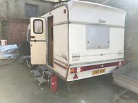 Cheap caravan. Festival / site office / additional living space