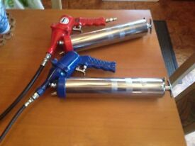 air powered grease guns two of them both working only used once