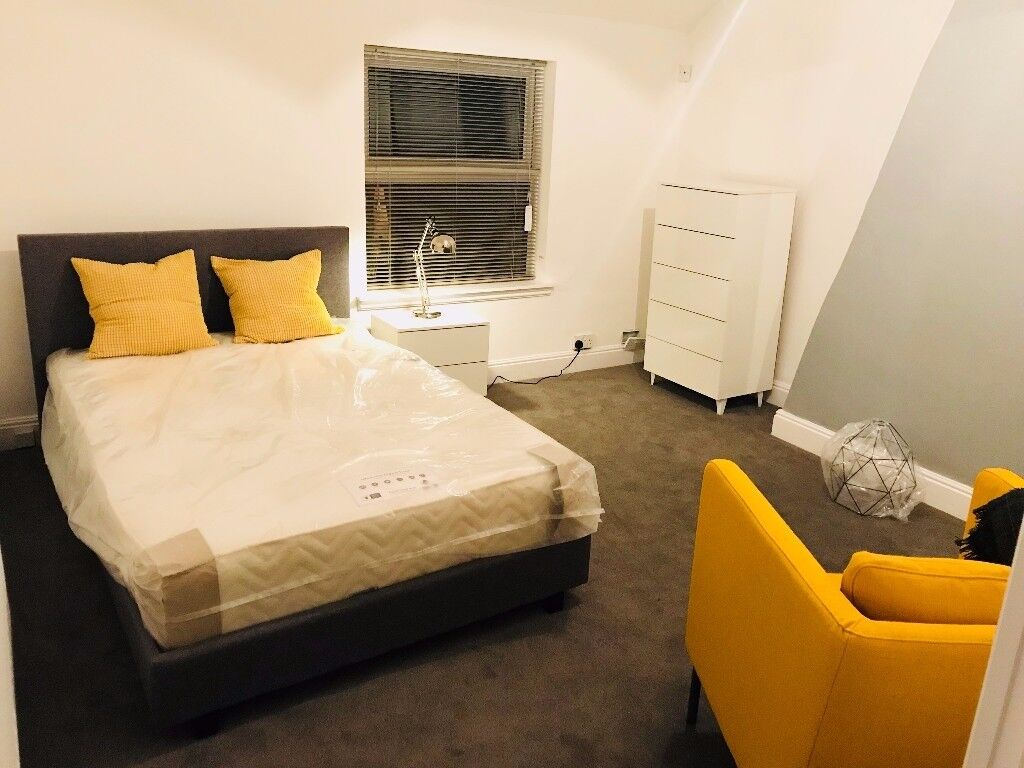 LUXURY SPACIOUS KING SIZE ROOM IN POPULAR LOCATION IN HUCKNALL - £395PCM