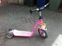 Pink Puky Scooter