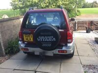 Suzuki Grand Vitara 2.0 td for sale 2 owners from new excellent condition