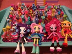 My little pony figure bundle