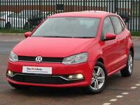 Volkswagen Polo MATCH (red) 2017-03-10