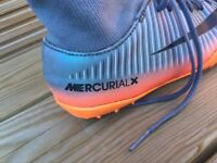 Adidas mercurial X CR7 Astro football boots size 1 kids