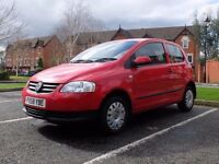 Volkswagen (VW) Fox 1.2 Petrol 2008 Red 12 Months MOT